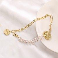 Bijoux à la main En gros bracelet de style coréen style style bracelet réglable tendance branchée bracelet de perle de tête punk de la rue pour femmes