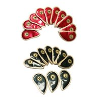 Golf Training Aids 10Pcs Set Crystal Mirror Faux Leather Iron Club Head Covers Shield Embroidery Thicken Waterproof Headcovers