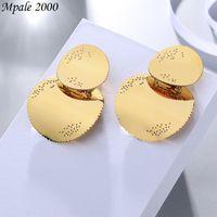 2021 new Celin same S925 pure silver needle Korean crescent Gold Fashion Earrings