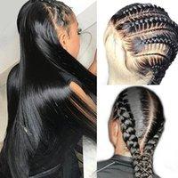 Lace Wigs 30 32 38 40Inch 360 Frontal Wig Brazilian Bone Straight 13x4 13x6 Human Hair 5x5 Closure For Women