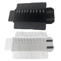 Ювелирные мешочки, сумки для рулона портативный перенос бархатный хранилище многофункциональный браслет