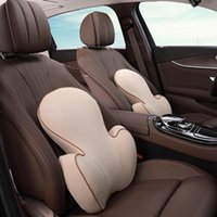 Car Seat Covers 3 Color Soft Memory Foam Lumber Support Back Massager Pillow Waist Cushion For Chair Home Office Relieve Pain