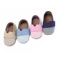 First Walkers Canvas Classic Sports Shoes Born Baby Boys Girls Infant Toddler Soft Sole Anti-slip 0-18M