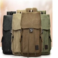Fashion trend backpacks casual canvas travel backpacks for men and women