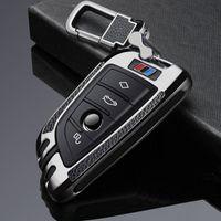 Autoschlüssel FOB Case Cover-Anzug für BMW Key FOB-Abdeckungsfall 2 3 5 7 Serie X1 X3 X5 X6 F45 F46 G20 G30 G32 G11 G12 G12 F48 G01 F15 F85