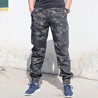 Men's Pants Special Camouflage Charging For Forces Training Outdoor Multi Bag Wear-resistant Overalls