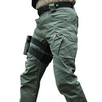 Men's Pants City Military Tactical Men SWAT Combat Army Trousers Many Pockets Waterproof Wear Resistant Casual Cargo 5XL