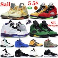 New 5 5s Sail Alternate Bel Grape Basketball Shoes То, что свежий принц Se Орегон Мичиган работает кроссовки мужские спортивные тренажеры