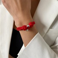 Charm Bracelets Red String For Protection Good Luck Amulet Success Prosperity Handmade Rope Lucky Bangles Gifts