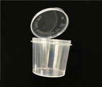 2021 одноразовая пластиковая порция Кубок приправа соус соус Souffle Souffle, желло кубок съемки контейнеров упаковочные коробки бесплатная доставка