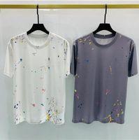 2021 Tee Brand Design Camicia Summer Street Wear Europe Moda Uomini di alta qualità Tshirt in cotone Casual Casual manica corta # 8518 m-xxl t shirt