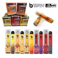 Bang Pro Max Switch 2 in 1 Disabosable Cigarettes Vape Price 1000 + 1000 퍼프 7.0ml 5 % 용량 무료 1100mAh 배터리 6 색 배달 3-7days