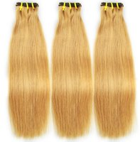 27# straight double drawn women virgin hair extensions