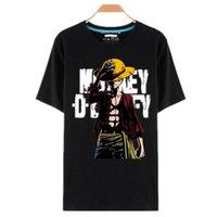 One-Piece T Футболки дизайнерские анимиты Thirts o -neck черная футболка для мужчин аниме дизайн один кусок футболки CamiSetas Tops