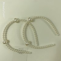 Fashion pearl hair hoop hair clip ornaments hairpin headdress Jewelry for Ladys collection Item Fashion hair ornaments 2pcs lot