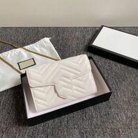 2020 Nieuwe 3-delige set luxurys handtassen ketting schoudertas ontwerpers crossbody tas stijl vrouwen handtassen en portemonnee nieuwe stijl 18