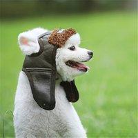 Retro Sonbahar Pet Şapka Kış Sıcak Köpek Kapaklar Avrupa Amerikan Kedi Şapkaları