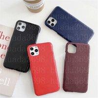 Cas de téléphone à imprimé rétro de concepteur pour iPhone 13 12 11 PRO X XS MAX XR 7 8 PU Cuir Cuir Cover Case FashaLaxy S21 S20 S20 S10 Note 20 10