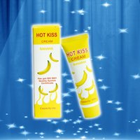 KISS Lubricant banana Cream Edible Personal Body Grease Oral Vaginal Anal for sex Penis Massage Oil 30ml