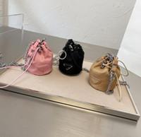 الفاخرة لطيف دلو دلو عملة محفظة محفظة الأزياء محافظ نايلون كوين الحقيبة المحافظ بطاقة حامل أحمر الشفاه حقيبة أعلى جودة حقيبة الكتف