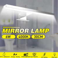 Indoor Led Wall Light Mirror Wall Lamp 6W 600LM White 30cm W...
