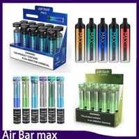100% Top quality Air Bar max Lux Disposable Device kit Built-in 500mah Battery 2.7ml Vape Pods 1000 puffs Dab Pen 0268196