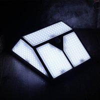 318/436 LED 태양 광 가벼운 적외선 인체 센서 및 조명 제어 야외 벽 방수 야드 안뜰 가로등