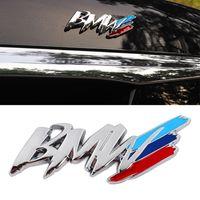 ل bmw m3 m5 1 3 4 5 سلسلة x1 x3 x5 م سيارة التصميم الصين صافي تعديل درابزين الجانب شعار سيارة ملصقا الديكور الملحقات