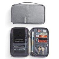 화장실 키트 LKEIKE 브랜드 여권 커버 홀더 카드 패키지 지갑 주최자 여행 액세서리 문서 가방 카드 소지자