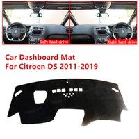 Pour Citroen DS 5 DS5 2011-2019 ANTI-Slip Tableau de bord de la voiture Couvre-tampon Tapis Sun Shade Pad Panneau de bord Tapis Tapis Accessoires