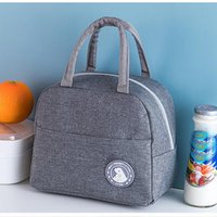 Storage Bags Portable Lunch Bag Aluminum Foil Insulated Thermal Tote Cooler Handbag Bento Box Picnic Organizer For Children