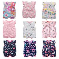 Rompers Baby Summer Clothes Boys And Girls Cotton Short Sleeve Outfit Infant Jumpsuit 6-24 Months Romper