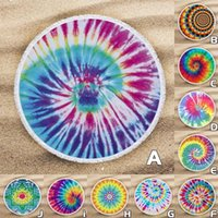 Table Cloth Vintage Round Beach Pool Tablecloth Home Sports Bath Shower Towel Blanket Outdoor Anti-sunlight Camping Mat