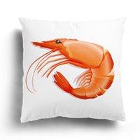 Cushion Decorative Pillow Marine Life Plush Pillowcase, Home Decoration Sofa Cushion Cover, Undersea Animal Pattern Customizable Fall Decor