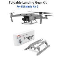 DJI Mavic Air 2 DJI Air 2S Landing Gear Foldable Landing Skid Kit Extended Expansion For DJI Mavic Air 2 Drone Accessories Y0703