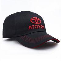 Racing Baseball Cap Toyota Car Logo Moto Gp F1 Style Sports Sun Hat Adjustable Casual Trucket