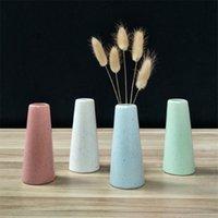 Керамическая ваза ремесленные изделия для депоны для дома для дома для дома. Опорные аксессуары Современная мебель Украшения Nordic Сухая цветочная ваза