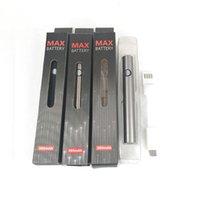 예열 VV 최대 기화기 펜 배터리 가변 전압 전자 담배 510 E-Cig usb 충전기가있는 스레드 vape 펜