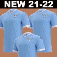 21 22 Lazio Home Soccer Jerseys 120th Inniversary 2021 2022 Away Third Maglie Incobile Luis Bastos Football Adult Men + Kids Kit Shirts