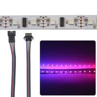 Streifen 50m LPD8806 SDM RGB Digital adressierbar Traum Full Color Pixel LED Streifen Licht 48LEDS / M IP30 Nicht wasserdichte weiße PCB DC5V