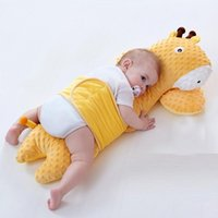 Pillows Baby Soothing Pillow Animals Doll Plush Toy Children's Sleeping Born Soft Crib Bumper Pad Bedding Protection Cushion