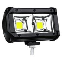 5 Inch 48W COB 6500K Work Light Waterproof LED Lights Bar for Off-Road Suv Boat 4X4 Jeep JK 4Wd Truck