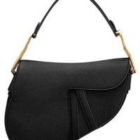 Bolsas de hombro HOBO HOBO de alta calidad Moda Bolsa de silla de cuero genuino de la moda Tote Diseñador de lujo Middle Moon Forma Bolso de la Crossbody