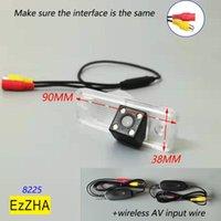 Car Rear View Cameras& Parking Sensors 4LED Light Vehicle Dynamic Line Reverse Backup Camera For Santa Fe IX25 Creta Carens Azera Sa