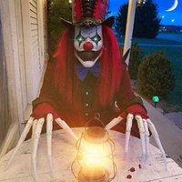 Подвижный череп 3d напечатанные расширения Хэллоуин пальцев украшения реквизиты ужасов призрак коготь партийный костюм расходных материалов