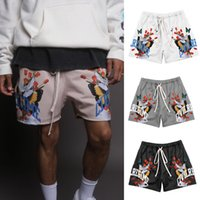 Loose Sports Shorts Men's Outer Wear Summer Quick Dry Breathable Short Pants Gym Running Casual Leisure Fitness Pant Tide
