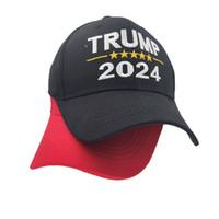 2024 Trump Şapka Cumhurbaşkanlığı Seçim Harfleri Baskılı Beyzbol Kapaklar Erkek Kadın Ayarlanabilir Trumpusa Hip Hop Peak Cap Baş Giyim G3202