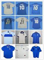 Top 1994 Italys Retro Soccer Jerseys Maglia Italia Maglie Star R.Baggio 10 BARSEI 6 Maldini 5 Albertini 11 MAILLOT DE FUTS SHIRTS FULLBOL SHIRT QUALITÄT FUßBALL JERSEY