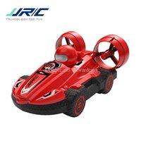 JJRC Q86 2 in einer Fernbedienung, Luftkissenfahrzeugspielzeug, Doppelmodelle des Meeres, Land, einstellbare Geschwindigkeit, Weihnachtskinder-Geburtstags-Boy-Geschenk, ua