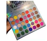 Coco Kentsel Göz Makyajı 35 Renkler Pigment Ve Glitter Göz Farı Paleti Preslenmiş Toz Hello Kış Mermaid Kabarcık